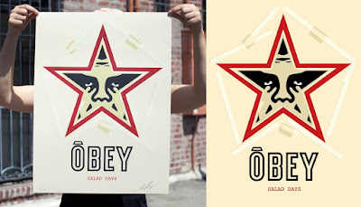 "Obey Giant ""Salad Days"" Screen Print by Shepard Fairey"