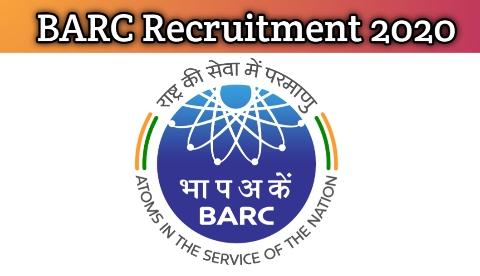 BARC Recruitment 2020 | Apply for Various Jobs