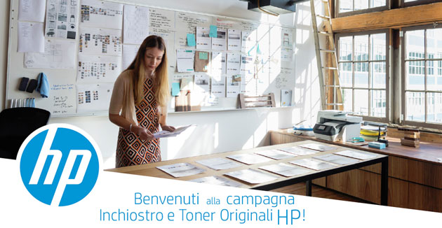 campagna the insiders inchiostro e toner originali hp