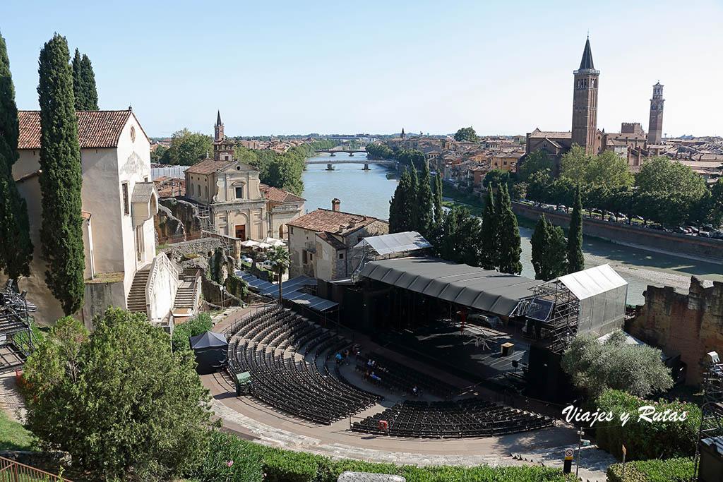 teatro romano de Verona