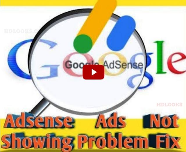 Adsense Ads Not Showing
