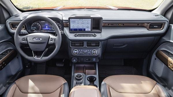 Interior Ford Maverick 2022