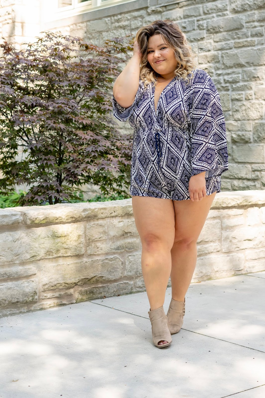 Chicago fashion blogger, Chicago plus size fashion blogger, natalie Craig, natalie in the city, plus size fashion, Chicago fashion, plus size fashion blogger, eff your beauty standards, fatshion, skorch magazine, Chicago model, plus size model, plus size petite, affordable plus size clothing, embrace your curves, plus model magazine, petite plus size, plus size loft clothing, fashion nova, fashion nova curve, plus size rompers, flattering rompers, how to find the best romper, nova babe