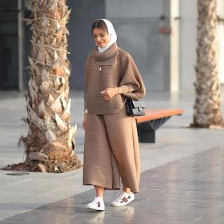 ملابس شتوية 2019 للمحجبات