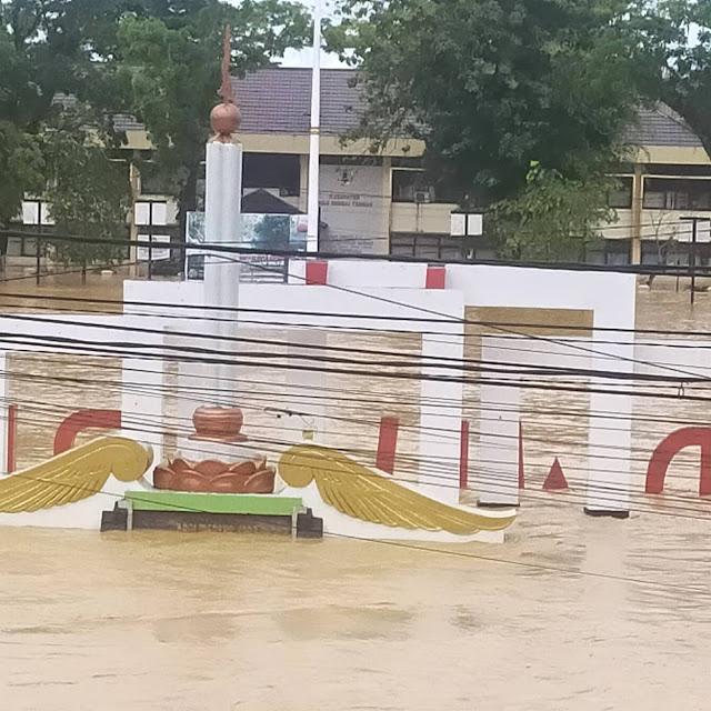 Banjir di Kalimantan Selatan 2021