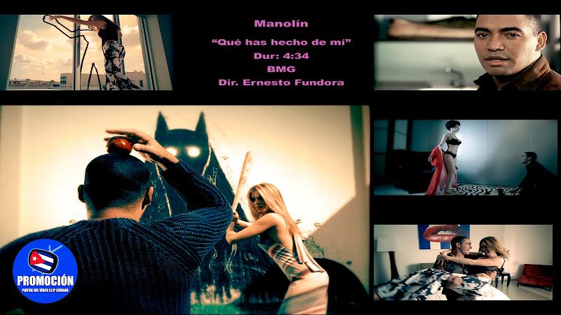 Manolín El Médico de la Salsa - ¨Qué has hecho de mi¨ - Videoclip - Director: Ernesto Fundora. Portal Del Vídeo Clip Cubano. Música cubana. Cuba.