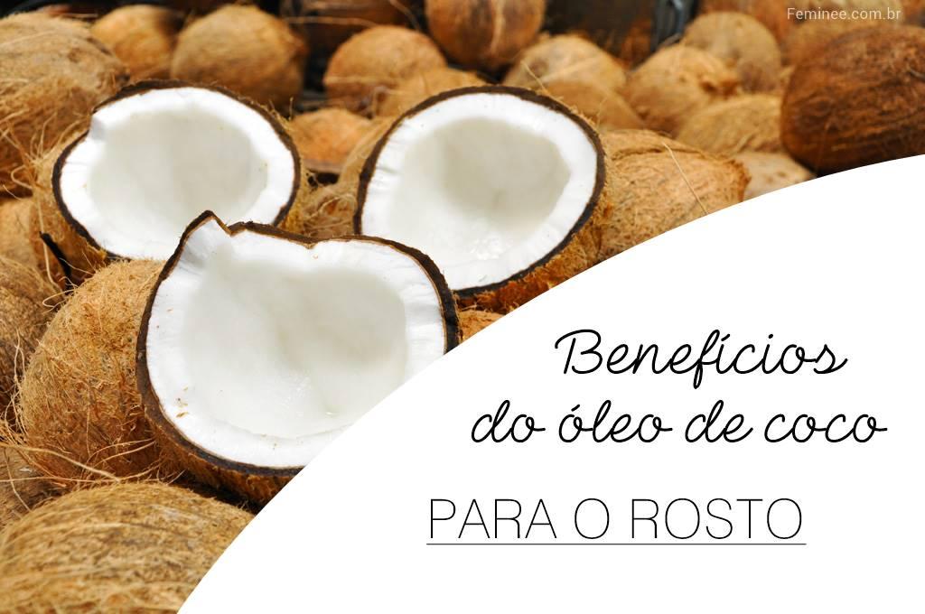 benefícios do óleo de coco para a pele, como tratar a pele oleosa e acne com óleo de coco,