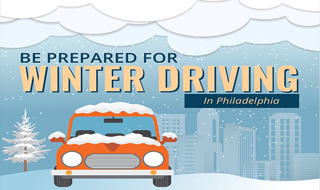 Be Prepared For Winter Driving in Philadelphia #infographic