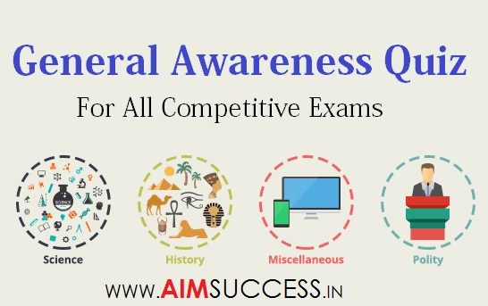 General Awareness MCQ for SSC CHSL 2018