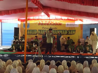 Peringatan Maulud Nabi Muhammad S.A.W di SMK Sakti Gemolong