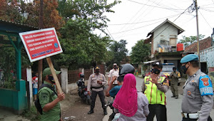 Polsek Pameungpeuk Polresta Bandung Rutin Menggelar Ops Yustisi