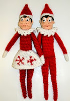 http://www.ravelry.com/patterns/library/holiday-shelf-elf-crochet-doll