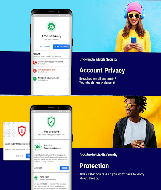 تطبيق الحماية Bitdefender Mobile Security & Antivirus Premium للأندرويد