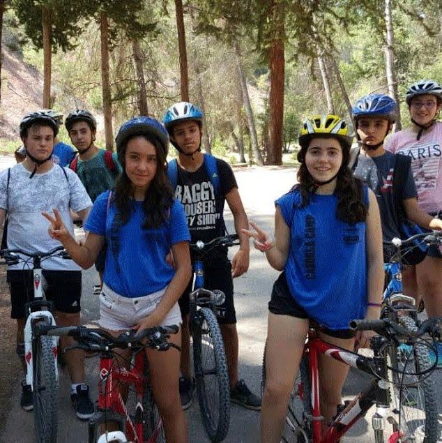 Bicicleta en Cazorla Berlitz Camp