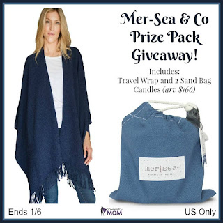 Enter the Mer-Sea & Co Prize Pack Giveaway. Ends 1/6