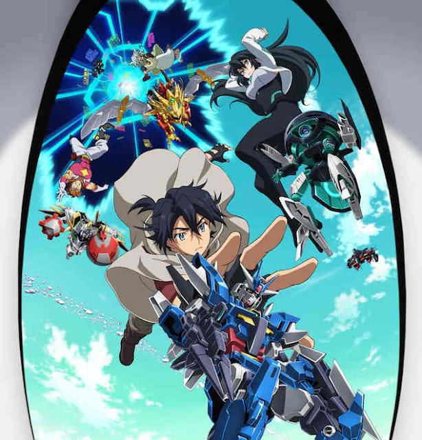 Anime Gundam Build Divers Re: RISE Juga Mendapat Acara TV di Jepang