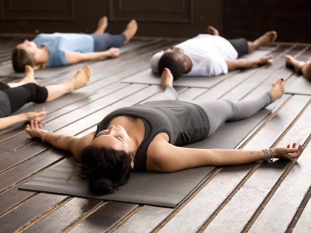 yoga term savasana
