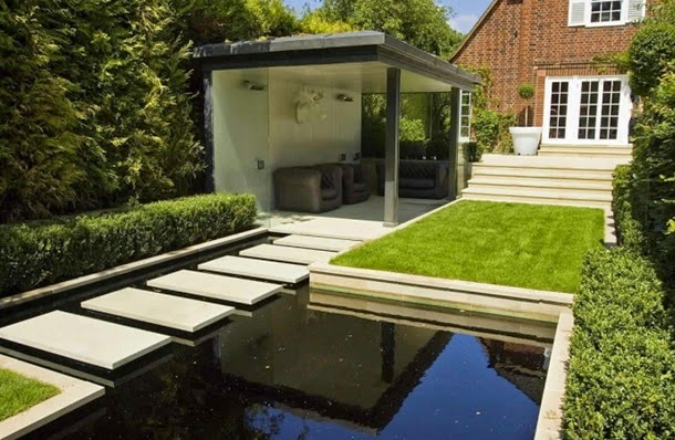 Маленький двор, дизайн