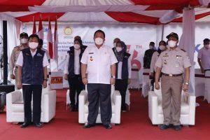 Gubernur Arinal Ikuti Pelepasan Merdeka Eskpor Pertanian
