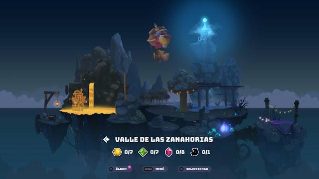 Kaze and the wild masks - mapa mundo