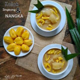 Kolak Singkong & Nangka