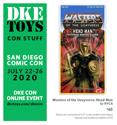 San Diego Comic-Con 2020 Exclusive Wasters of the Uzayverse: Head Man Resin Figure by RYCA x DKE Toys