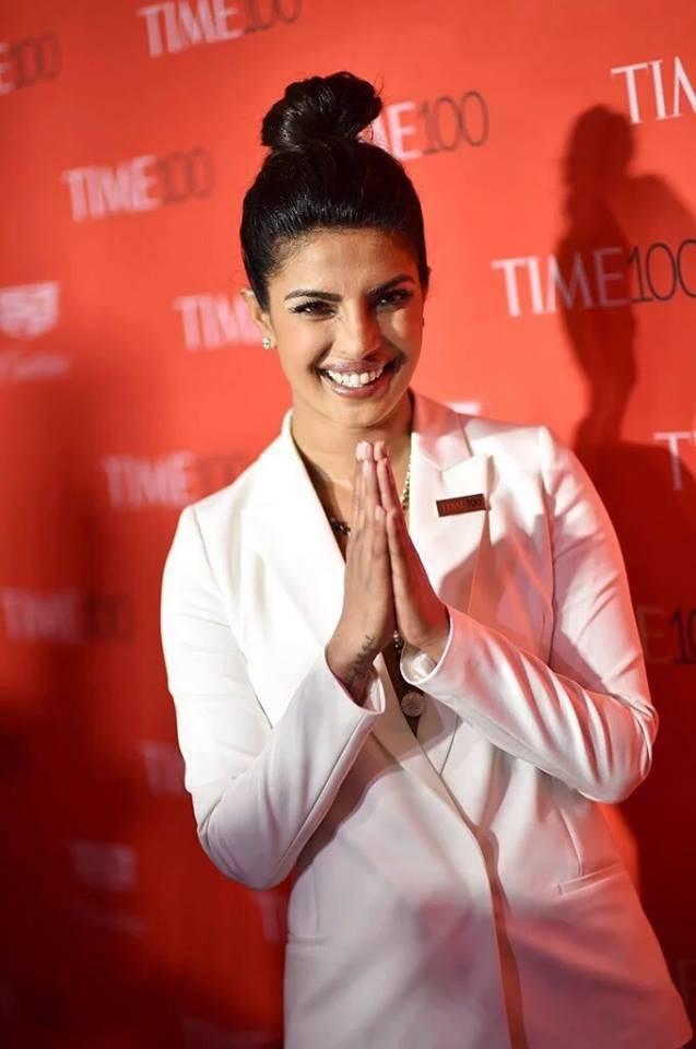 Priyanka Chopra Hot Photos In White Shirt