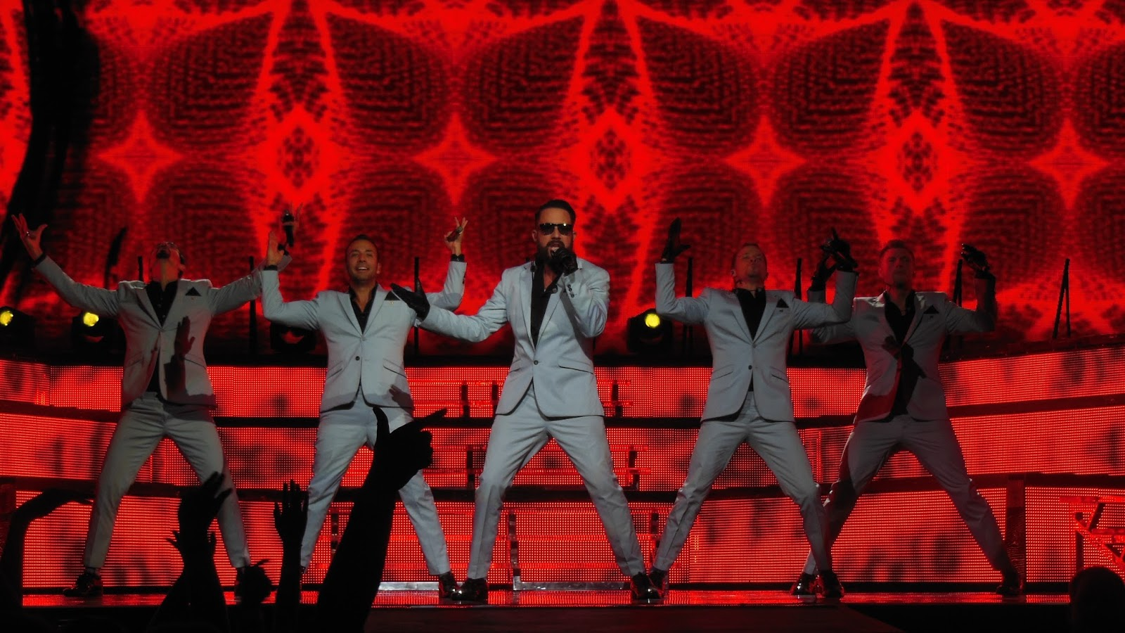 6 de Julho: Backstreet Boys: In A world Like This Tour