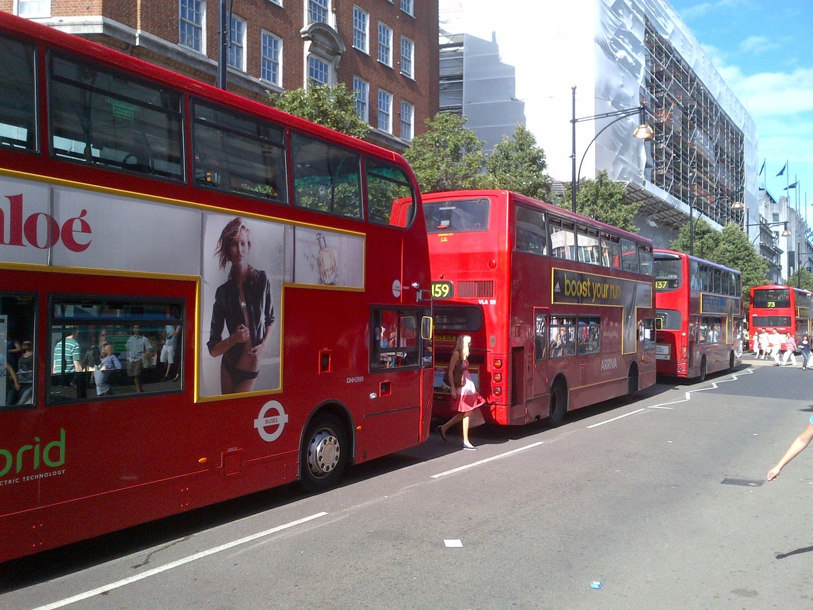 Londonbuswatch The Oxford Street Bus Station Make It Safe Or Shut It Down