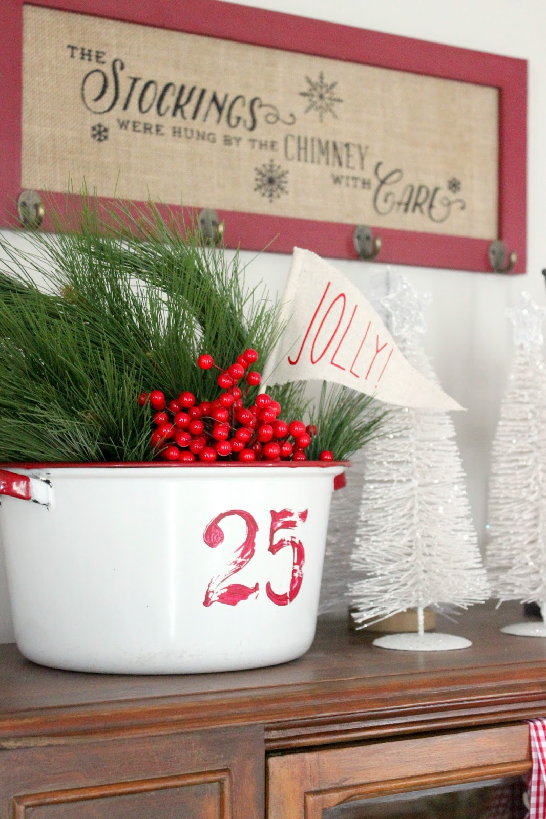 vintage christmas decor