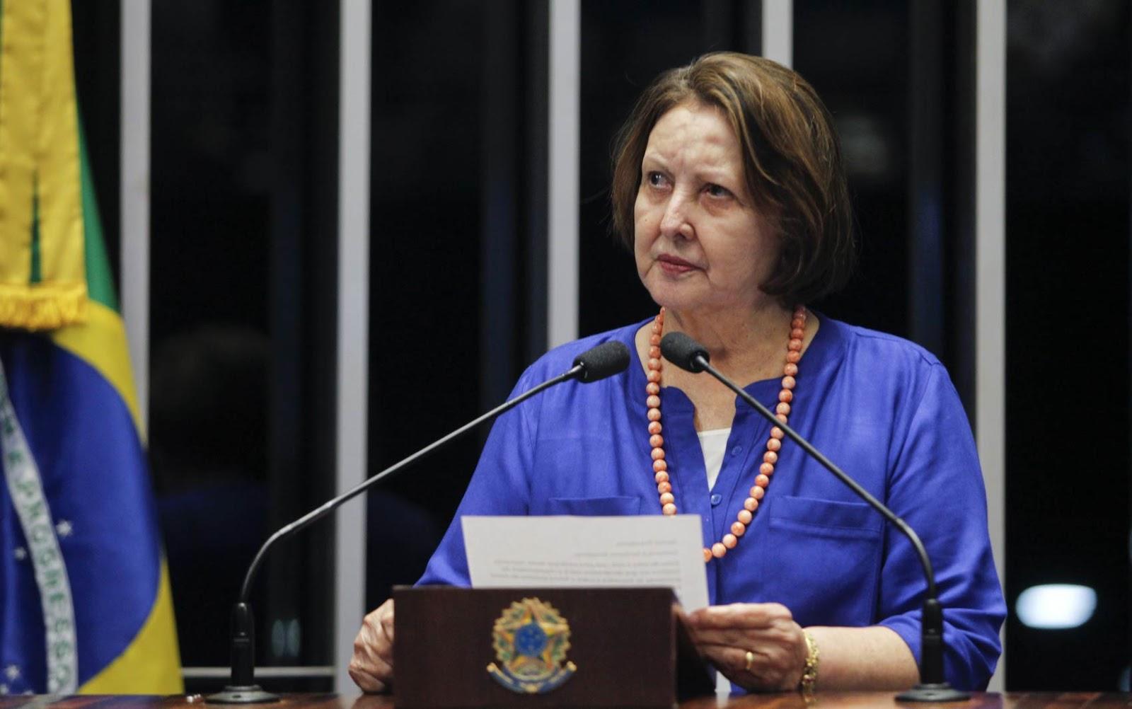 Retorno de Maria do Carmo no Senado gera polêmica; 'o retorno da múmia', dizem internautas