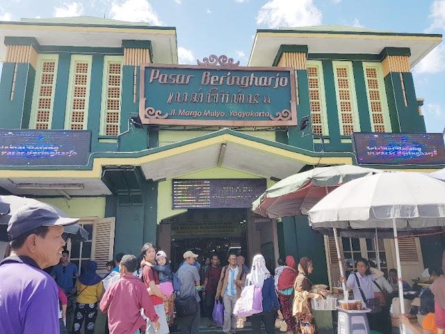 Pasar Beringharjo, Yogyakarta kota yang penuh cerita dan romansa