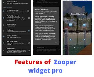 Zooper widget pro apk