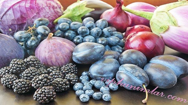 Mor Sebze ve Meyvelerin Sağlık İçin Faydaları - www.viphanimlar.com