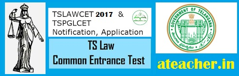 TS LAWCET 2017 NOTIFICATION