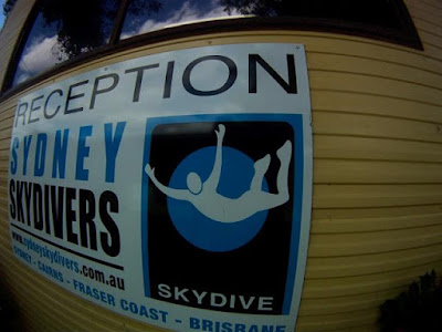 Skydiving, Sydney