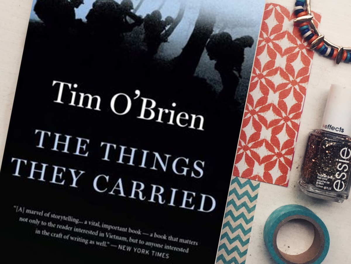 a review of the novel the things they carried by tim obrien The things they carried by tim o' brien is a great book that describes the lives  of soldiers in the vietnam war, and their lives afterward.