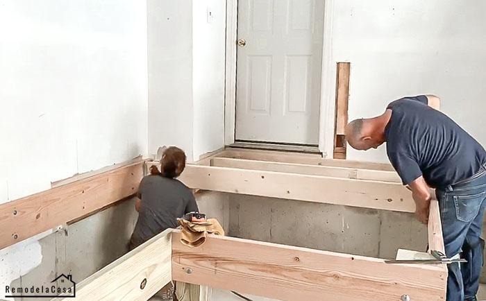 installing joists
