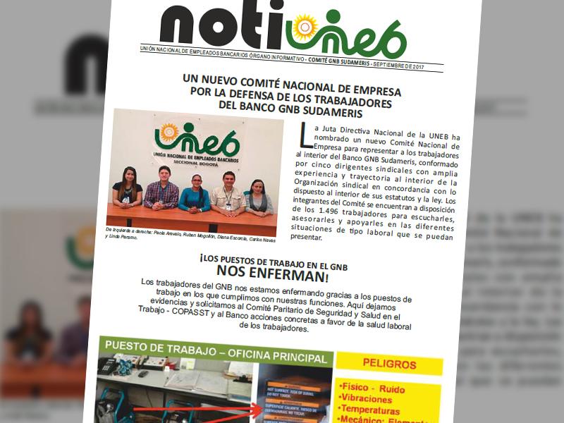 Notiuneb GNB-Sudameris septiembre de 2017