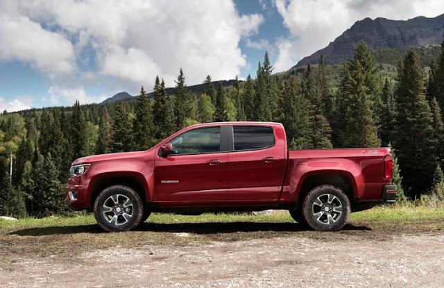 2016 Chevrolet Colorado red