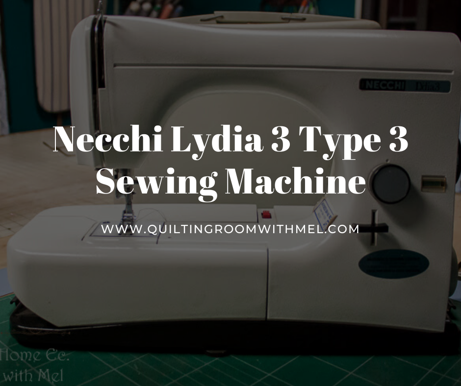 necchi lydia 3 type 544 sewing machine review