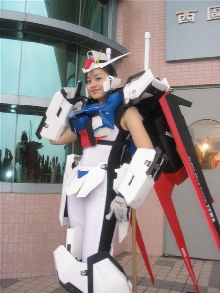 Ms Girl Wallpaper Gundam Guy Gundam Cosplay Ms Girl Strike Gundam Updated