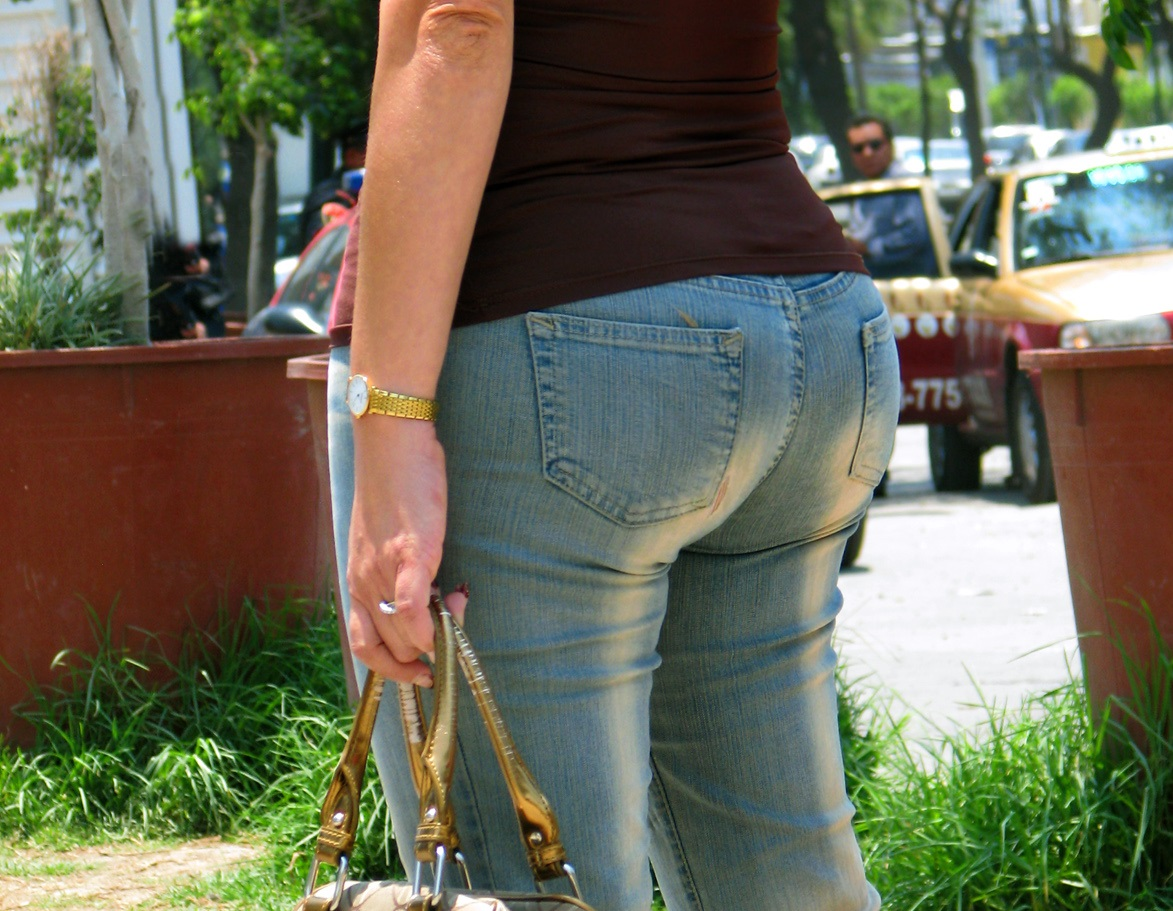 ass big in jeans