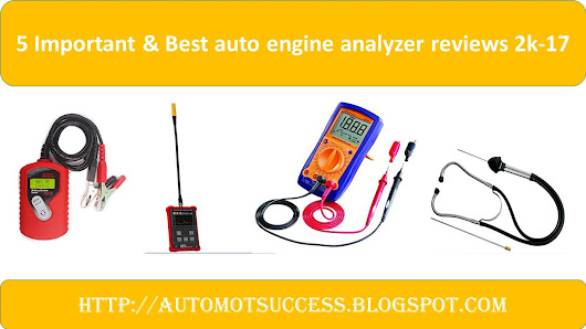 5 Important & Best auto engine analyzer reviews 2k-17