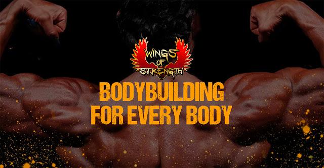 Wings of strength bodybuilding