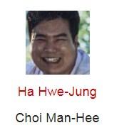 Ha Hwe-Jung berperan sebagai Choi Man-Hee