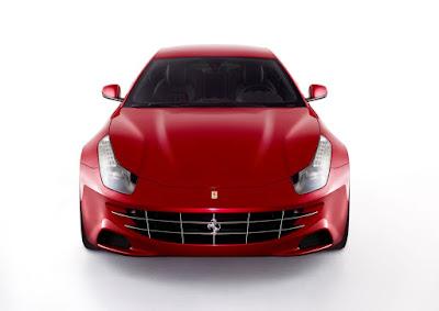 Ferrari 620 GT front angle