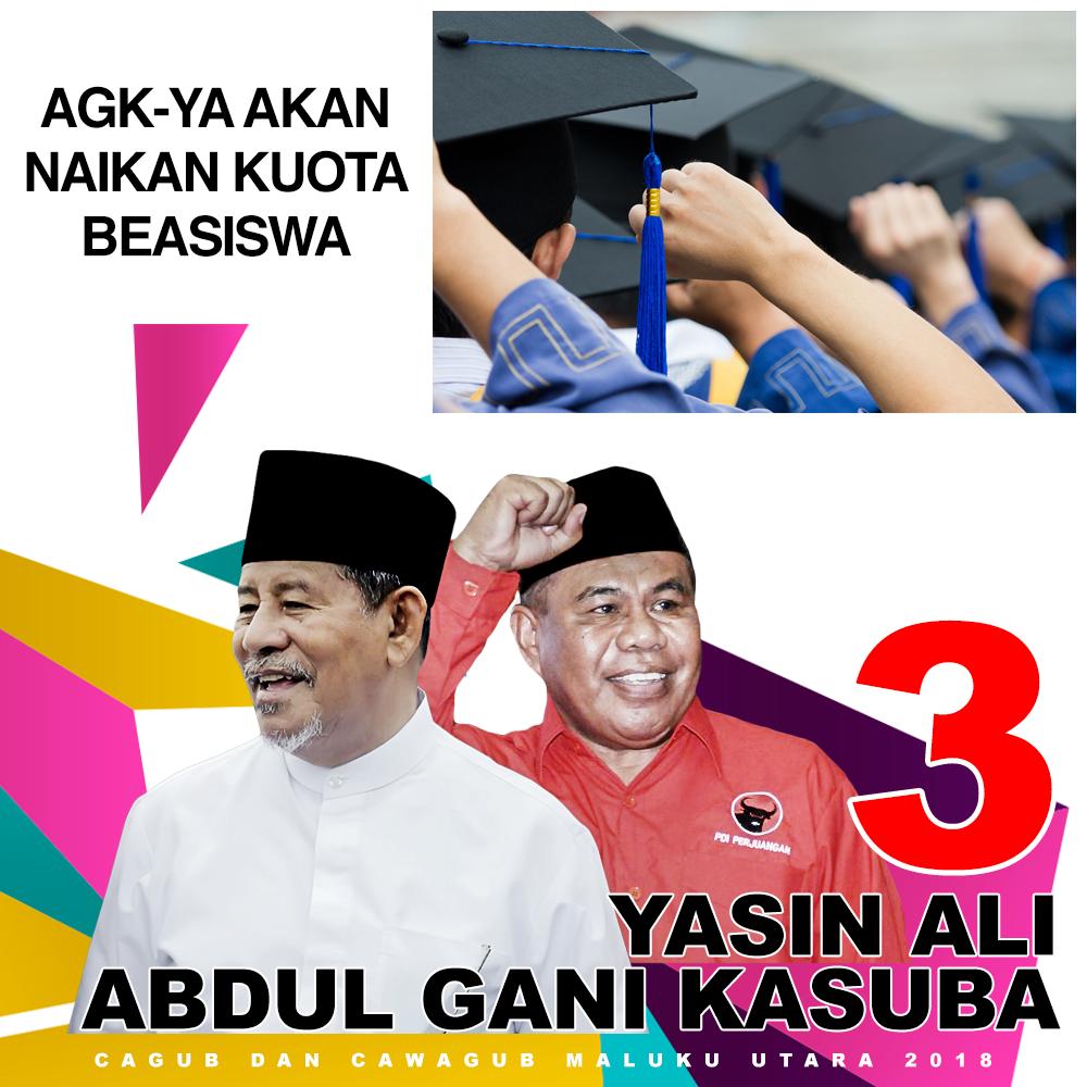 AGK - YA Akan Naikin Kuota Beasiswa