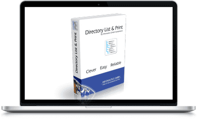 Directory List and Print Pro 3.70 Full Version