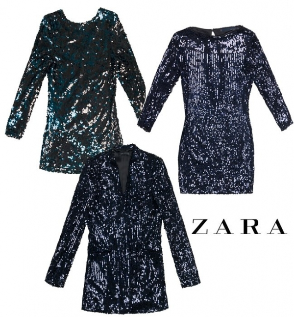 8255da0d9188 Abiti Paillettes Zara ~ The fashion side of life bagliori scintillanti  paillettes ...